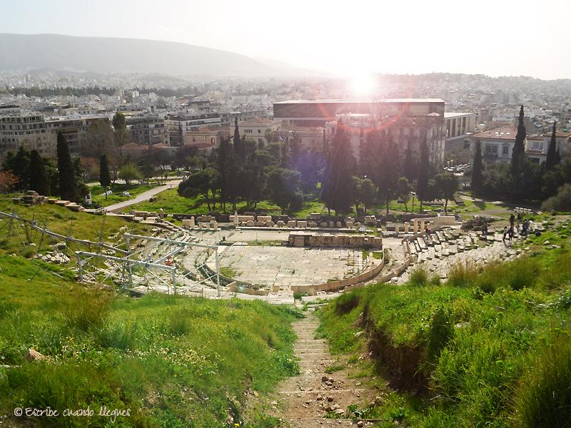 Vista del Teatro de Dionisio