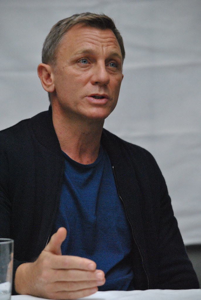 Дэниел Крэйг — Пресс-конференция «007: СПЕКТР» 2015 – 62
