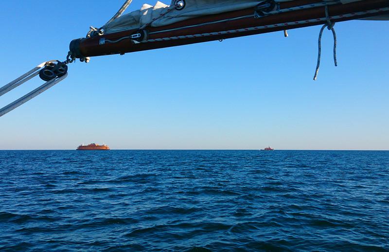 FerryUnderTow