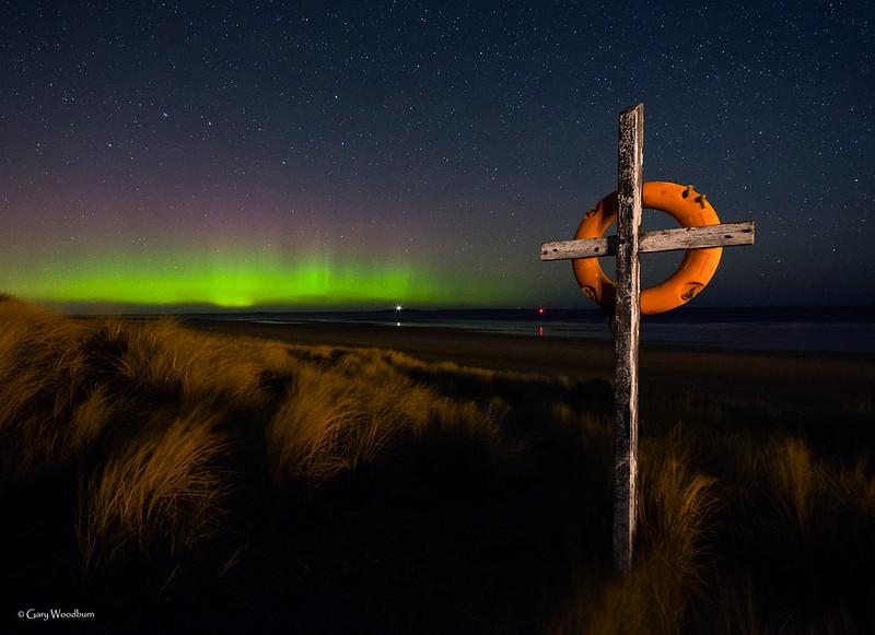Rainbow Rays - Aurora Borealis, Seahouses, Northumberland