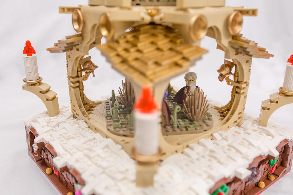 [BuildtheBrick #2]: Weihnachtspyramide 23246704844_4fd39ea624_b