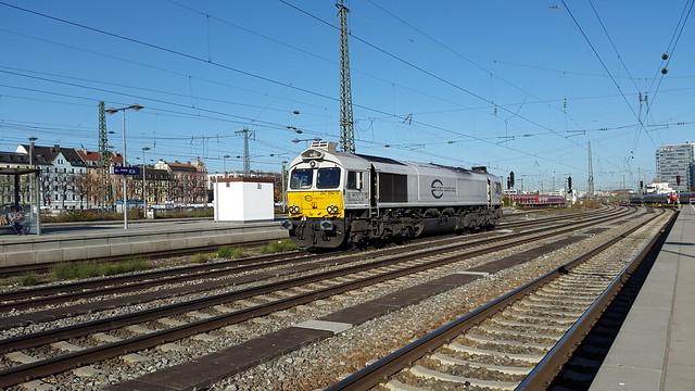 Euro Cargo Rail 247 054-0, München Ost, DEU-M