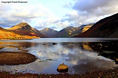 Winter light on Wastwater