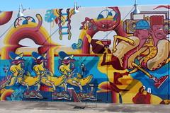 Brooklyn - Coney Art Walls: Bana Split Hot Diggity Dogs by Sheryo & The Yok