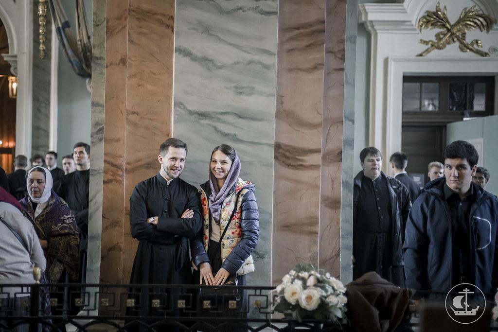 2 октября 2016, Литургия в Петропавловском соборе / 2 October 2016, Liturgy in the Peter and Paul Cathedral