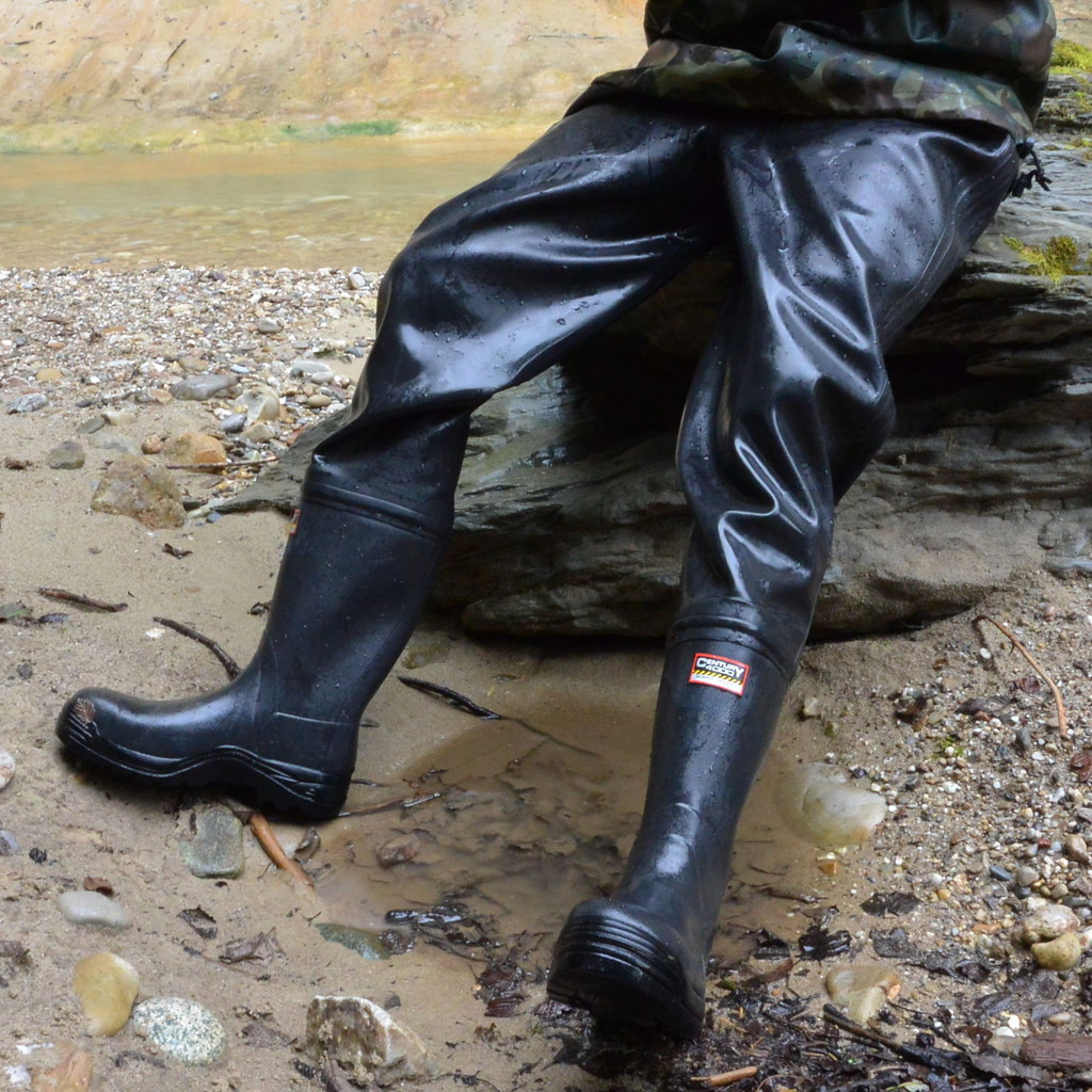 Boot Gay Mud Rubber