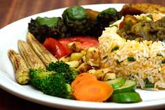 Grilled Platter w/ Saffron Rice