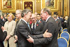 President of Colombia with former First Minister of Northern Ireland