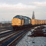 37 692 at Newport (Gwent). 01/12/87.