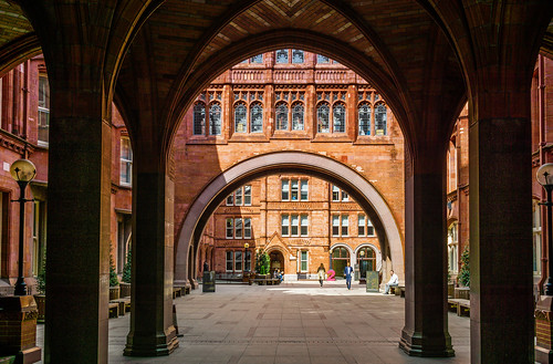 Archways and courtyards