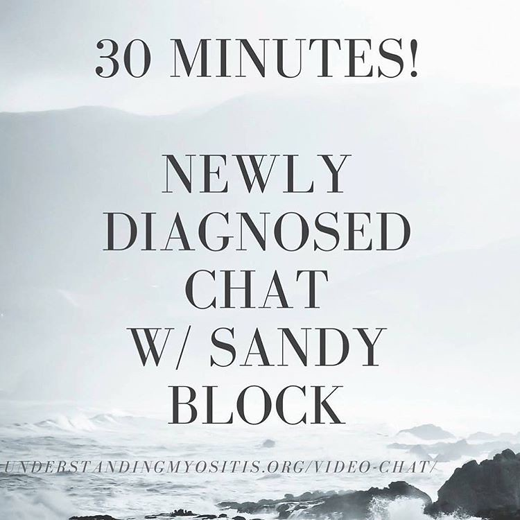 """Newly Diagnosed"""" with Sandy Morgan Block begins in 30 MIN… 