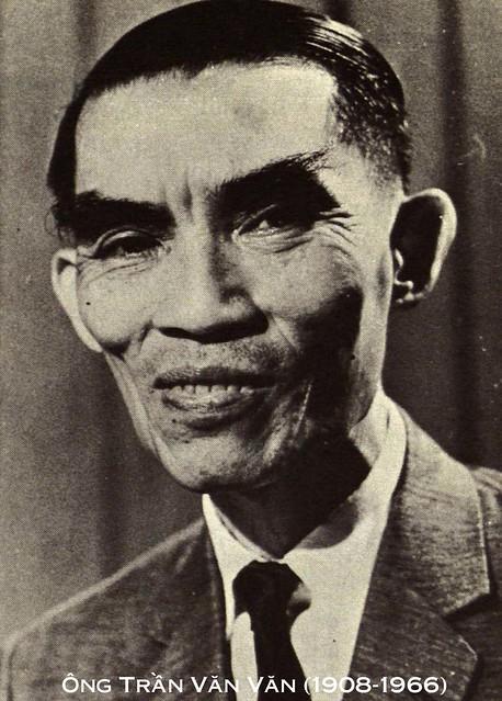 Dân biểu Trần Văn Văn (1908-1966) bị VC ám sát tại Saigon ngày 7/12/1966, đúng 50 năm trước đây