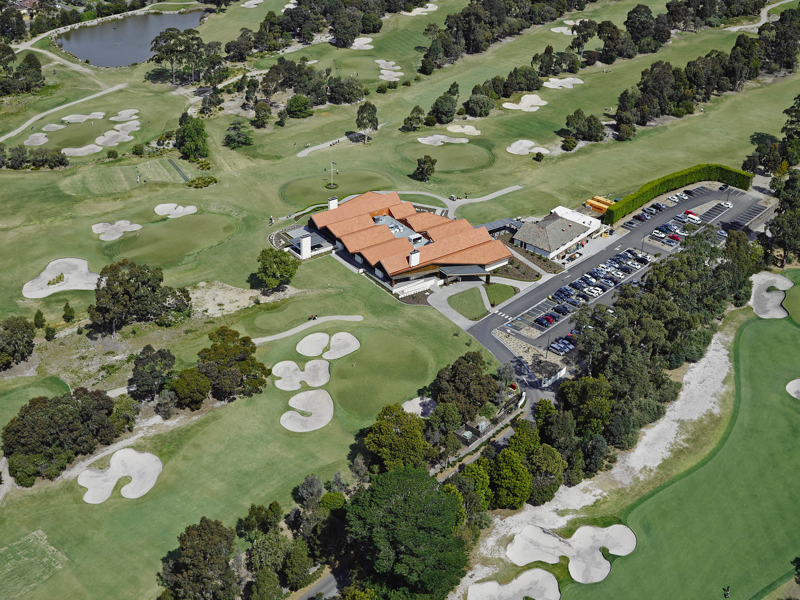 Huntingdale Golf Club Clubhouse