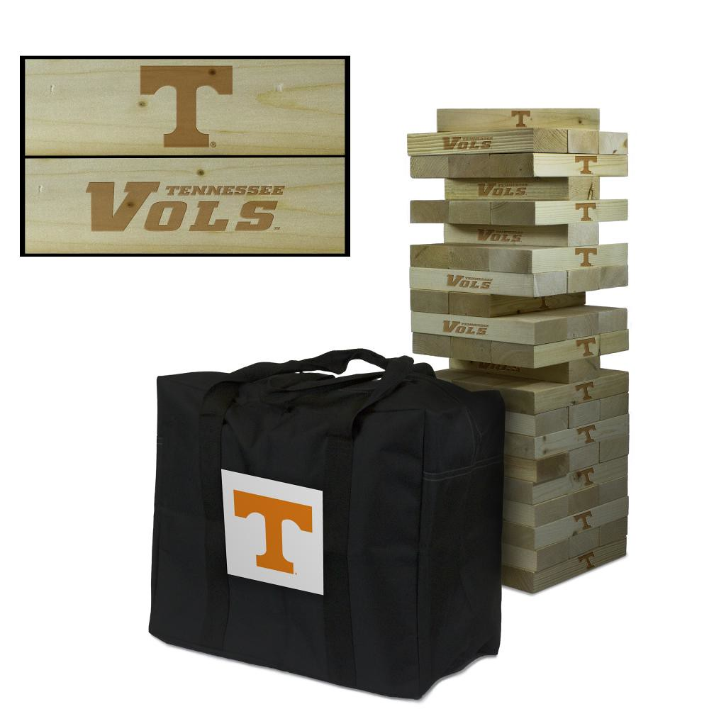 Tennessee Volunteers Wooden Tumble Tower Game