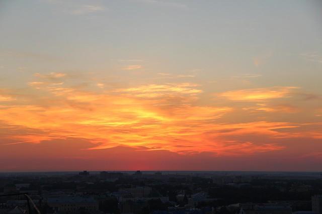 """Проект """"Вслух"""" встреча на крыше 12.08.2015"""