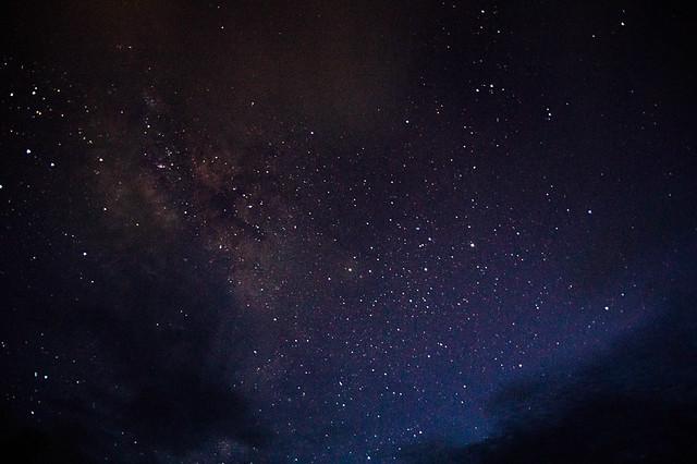 波照間島の星空
