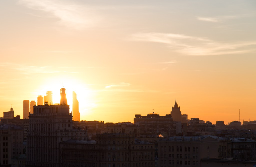 Rusland: Farverige Moskva