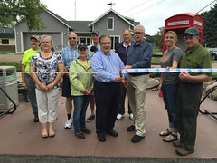 Suttons Bay Kiosk Ribbon Cutting