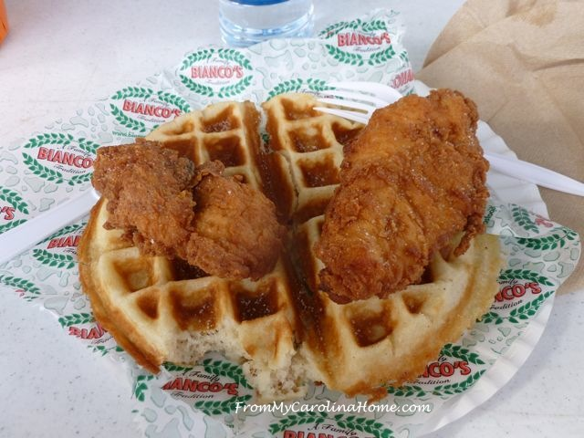 State Fair 2015 -Chicken and Waffles