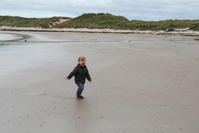 Beadnell beach