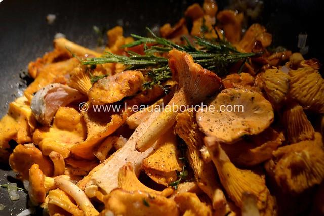Tagliatelles aux Chanterelles © Ana Luthi Tous droits réservés 0007