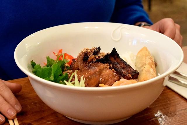 Bun Cha Bun Noodles at KIN, Clerkenwell | www.rachelphipps.com @rachelphipps