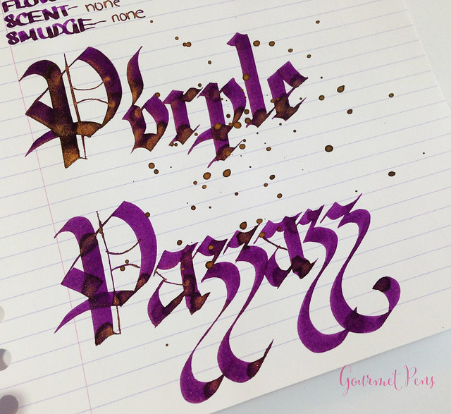 Ink Shot Review Diamine Purple Pazzazz (7)