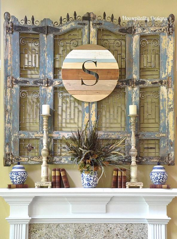 2015 Fall Mantel - Housepitality Designs