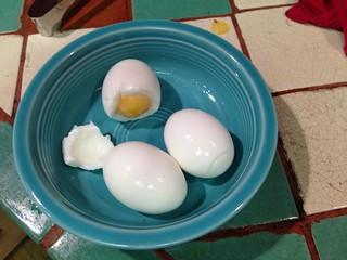 Seeking the perfect soft boiled egg