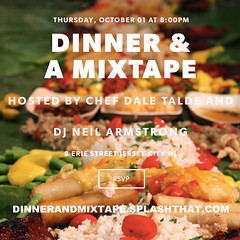 10/1 - Dinner & A Mixtape comes to Jersey City @ Talde JC