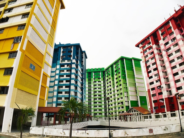 Colorful HDB Apartment