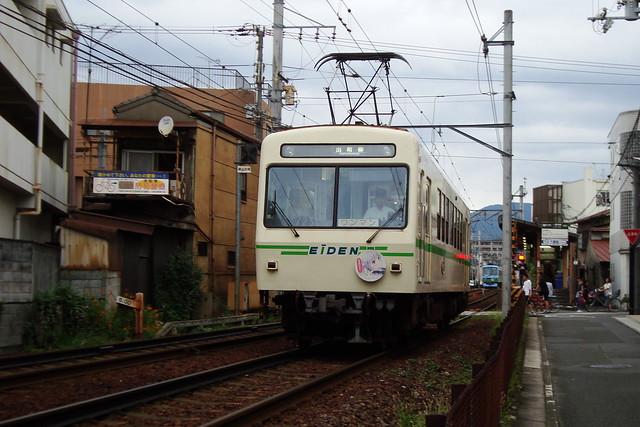 2015/09 叡山電車×NEW GAME! ラッピング車両 #35