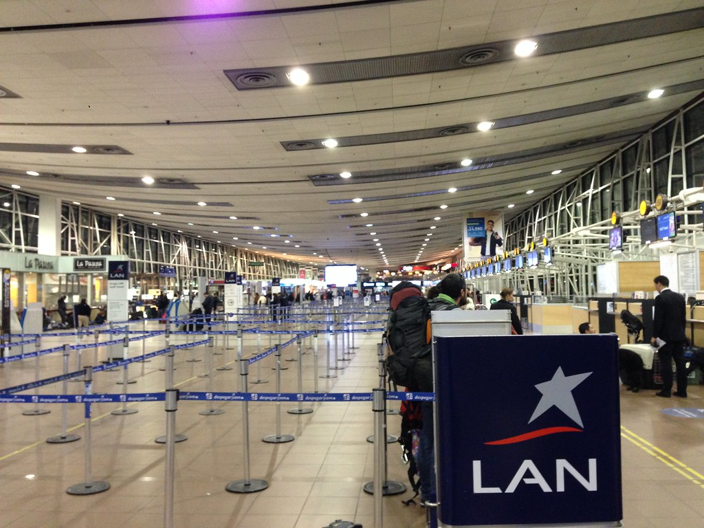 Review Of Lan Airlines Flight From Santiago To Punta