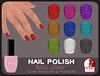.Oh!Liv. Slink NAIL POLISH - Basic Glitter