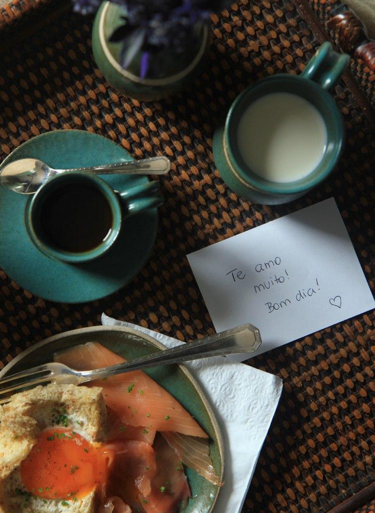 café da manhã para namorado