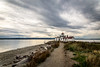 Seattle-WA-West Point Lighthouse-clouds-91515 by Tracey Rabjohns
