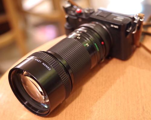 CANON FD 200mm 2.8