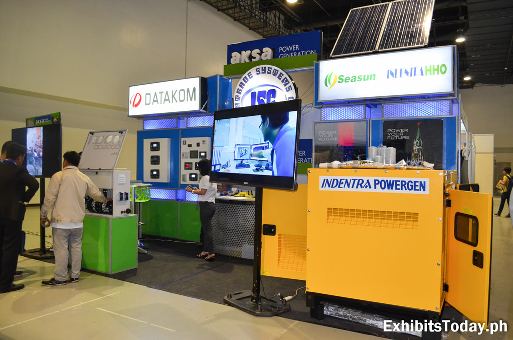 AKSA Power Generation Exhibit Booth