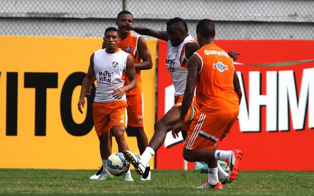 Com Fred em campo, Flu inicia preparação para decisão semifinal contra o Palmeiras