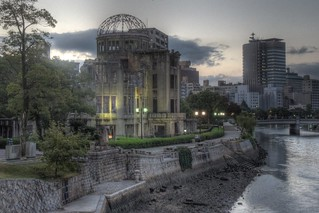 A-Bomb Dome at Hiroshima in early morning on OCT 28, 2015 (9)
