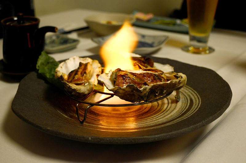 Flaming Oysters