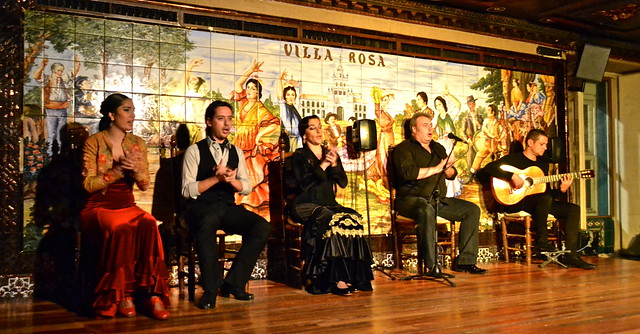 the performers - Flamenco Show Madrid - Tablao Flamenco Villa Rosa