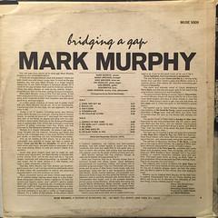 MARK MURPHY:BRIDGING A GAP(JACKET B)