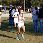 Airport Cross Country Girls at Midstate Qualifier 10-31-15