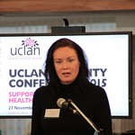 Naomi Timperley MC for EnD2015 UCLan