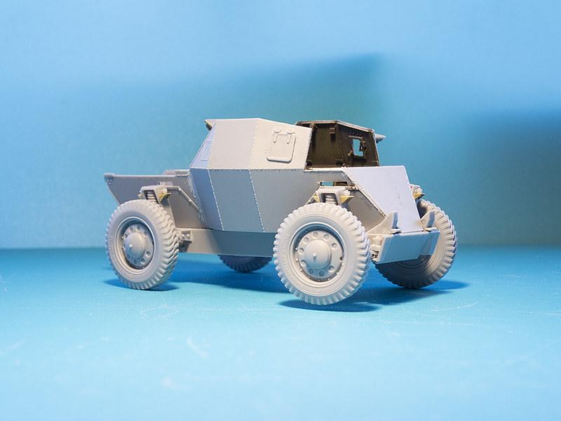 Projet Normandy : Dingo MK.III // Miniart // 1/35 22861254967_ec9ec33b5b_c