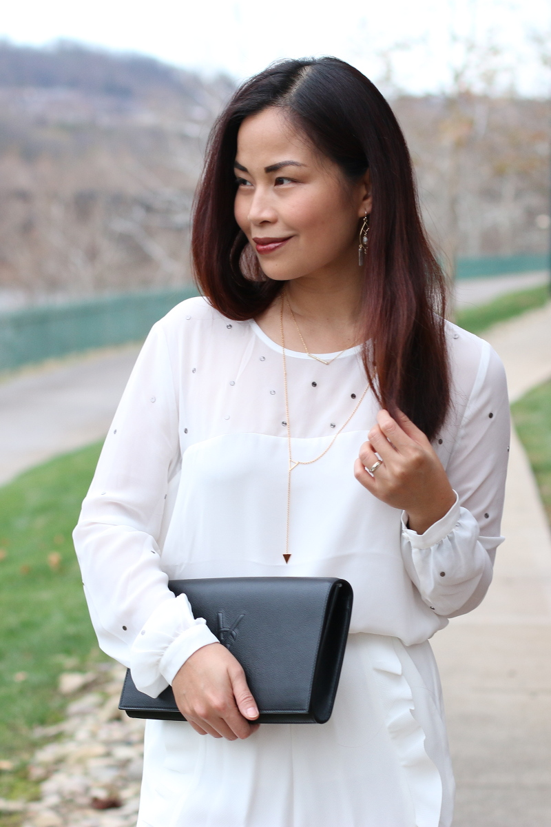 French Connection, Holiday outfit, white blouse
