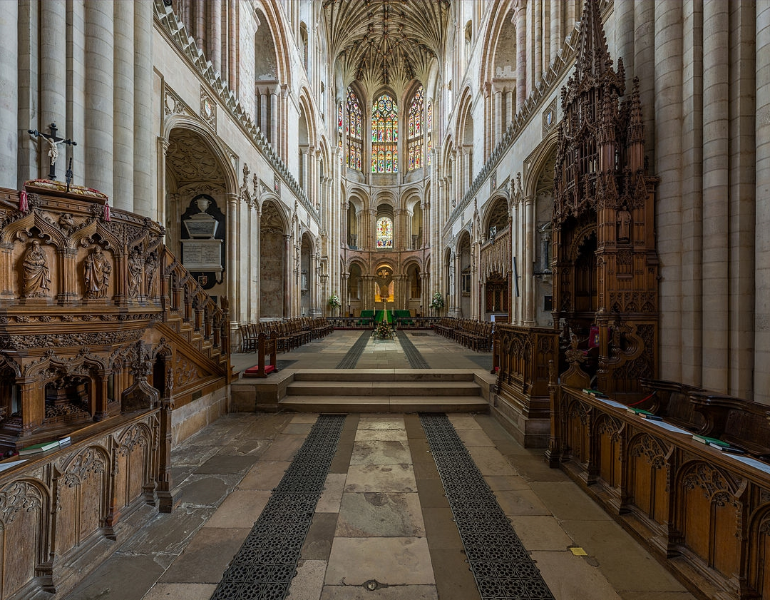 Norwich Cathedral - The presbytery as viewed from the choir. Credit: David Iliff