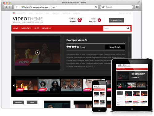 PremiumPress Video v8.8 – Theme for WordPress