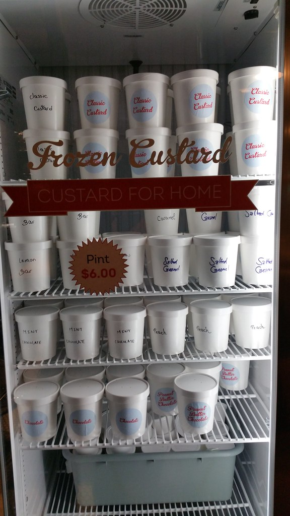Coney Island Frozen Custard pints
